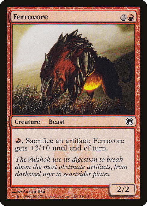 Ferrovore [Scars of Mirrodin] | Myrtle Beach Games & Comics