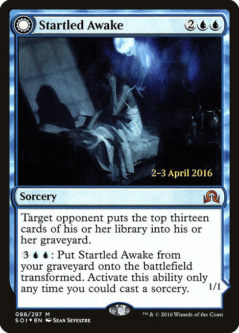 Startled Awake // Persistent Nightmare [Shadows over Innistrad Promos]  | My Pop Culture | New Zealand