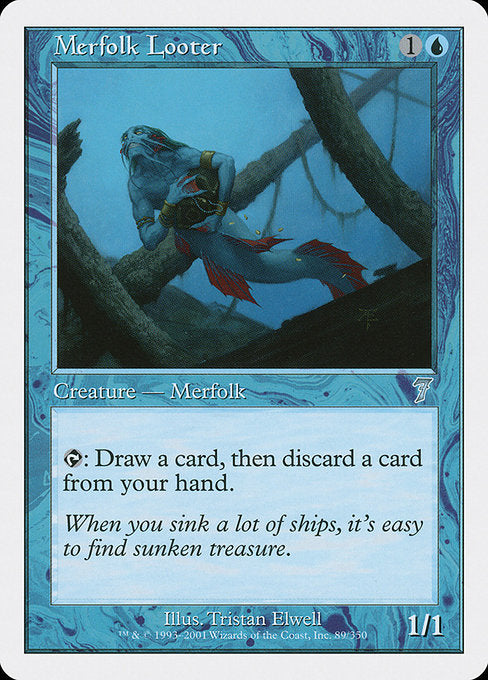 Merfolk Looter [Seventh Edition] | Myrtle Beach Games & Comics