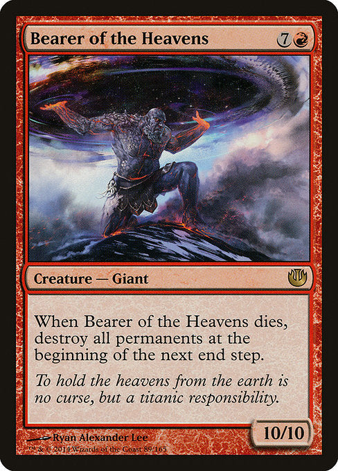 Bearer of the Heavens [Journey into Nyx] | Myrtle Beach Games & Comics