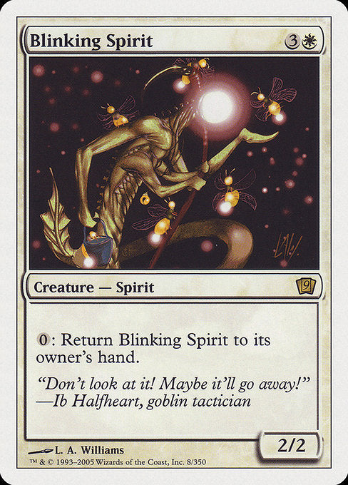 Blinking Spirit [Ninth Edition] | Myrtle Beach Games & Comics