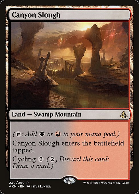 Canyon Slough [Amonkhet] | Myrtle Beach Games & Comics