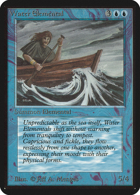 Water Elemental [Limited Edition Alpha] | Myrtle Beach Games & Comics
