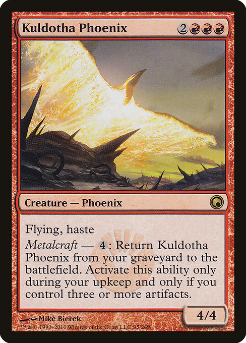 Kuldotha Phoenix [Scars of Mirrodin] | Myrtle Beach Games & Comics