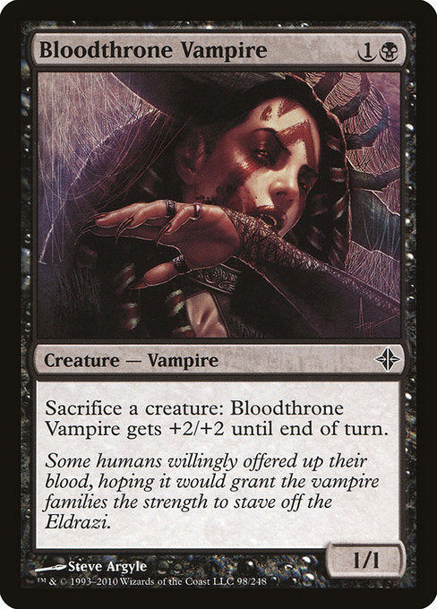 Bloodthrone Vampire [Rise of the Eldrazi] | Myrtle Beach Games & Comics