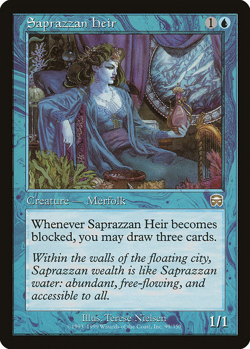 Saprazzan Heir [Mercadian Masques] | Myrtle Beach Games & Comics