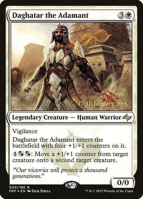 Daghatar the Adamant [Fate Reforged Promos] | Myrtle Beach Games & Comics