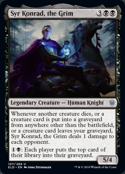 Syr Konrad, the Grim [Throne of Eldraine] | Myrtle Beach Games & Comics
