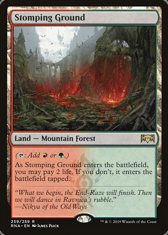 Stomping Ground [Ravnica Allegiance]