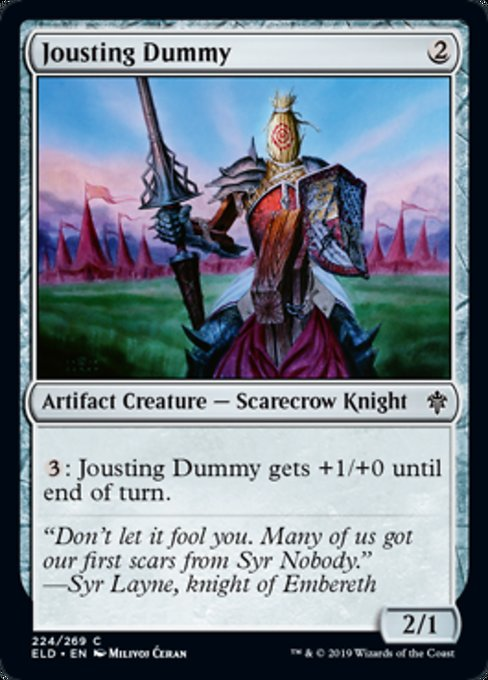 Jousting Dummy [Throne of Eldraine]  | My Pop Culture | New Zealand