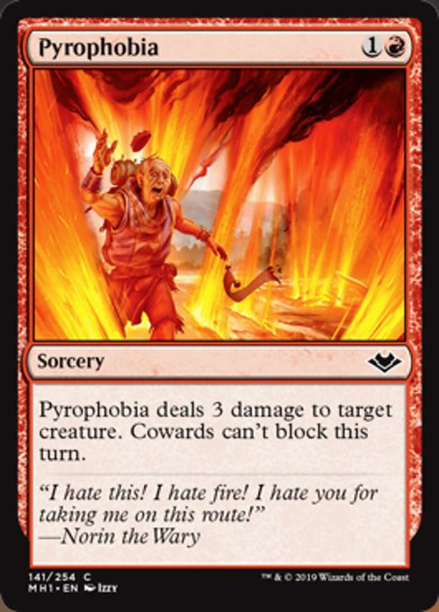 Pyrophobia [Modern Horizons]  | My Pop Culture | New Zealand