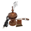 Electrical Bakhoor Burner & 50g Fragrance Paste - Copper