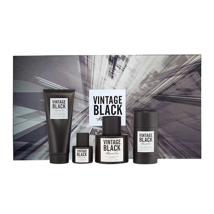Kenneth Cole Vintage Black 4 Piece Gift Set