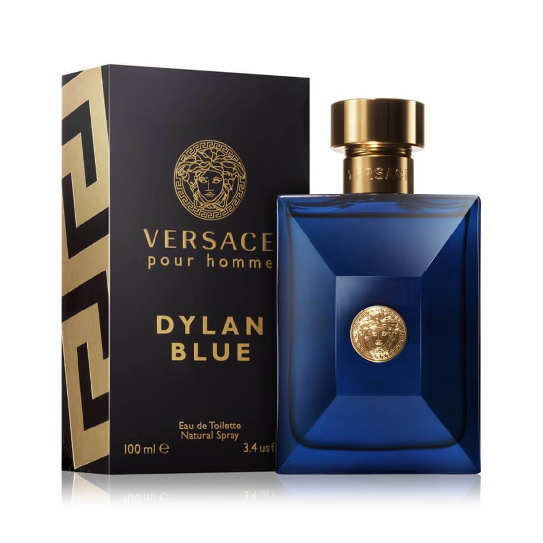 Versace Pour Homme Dylan Blue EDT Perfume For Men - 100ml