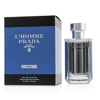 Prada L'Homme  L'eau Eau De Toilette For Men - 100ml