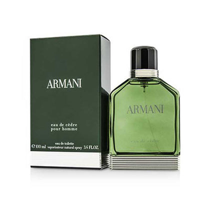 Giorgio Armani Eau De Cedre Eau De Toilette Perfume For Men - 100 ml
