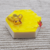 Organic Honeycomb shaped HONEY SAFFRON Soap