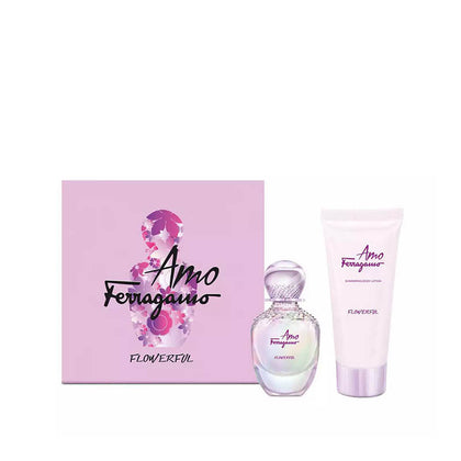 Salvatore Ferragamo Amo Flowerful Eau de Toilette Gift Set - 150ml