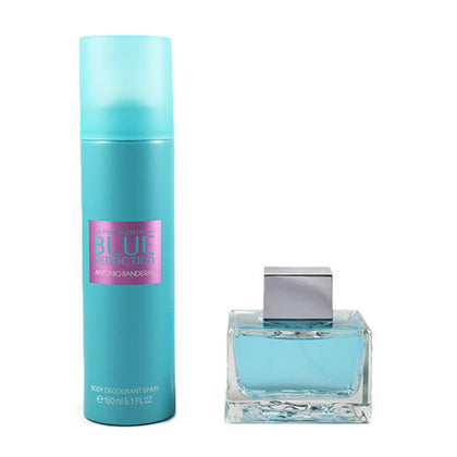 Antonio Banderas Blue Seduction For Women Gift Set