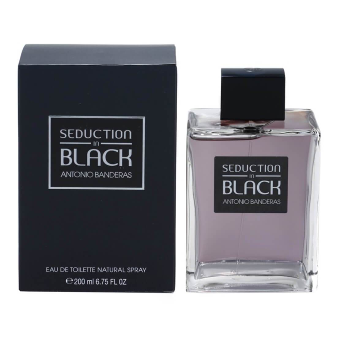 Antonio Banderas Seduction in Black For Men Perfume EDT 100ML