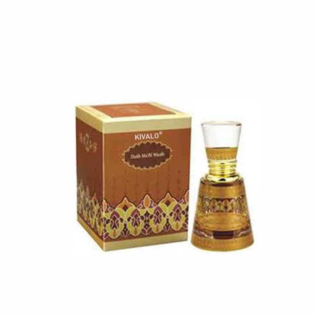Al Haramain Oudh Ma'Al Wargh Attar - 12 ml