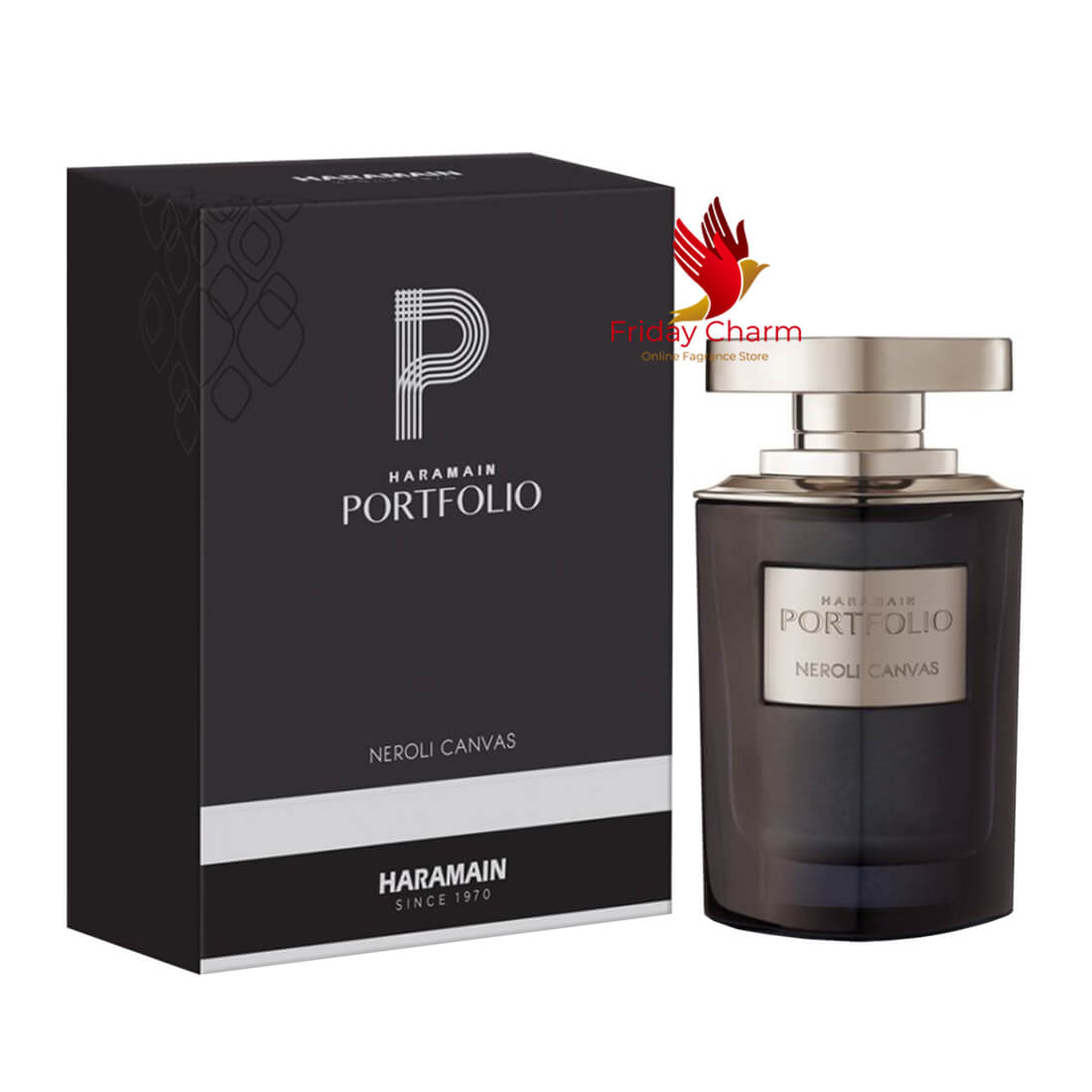 Al Haramain Portfolio Neroli Canvas Perfume Spray - 75ml
