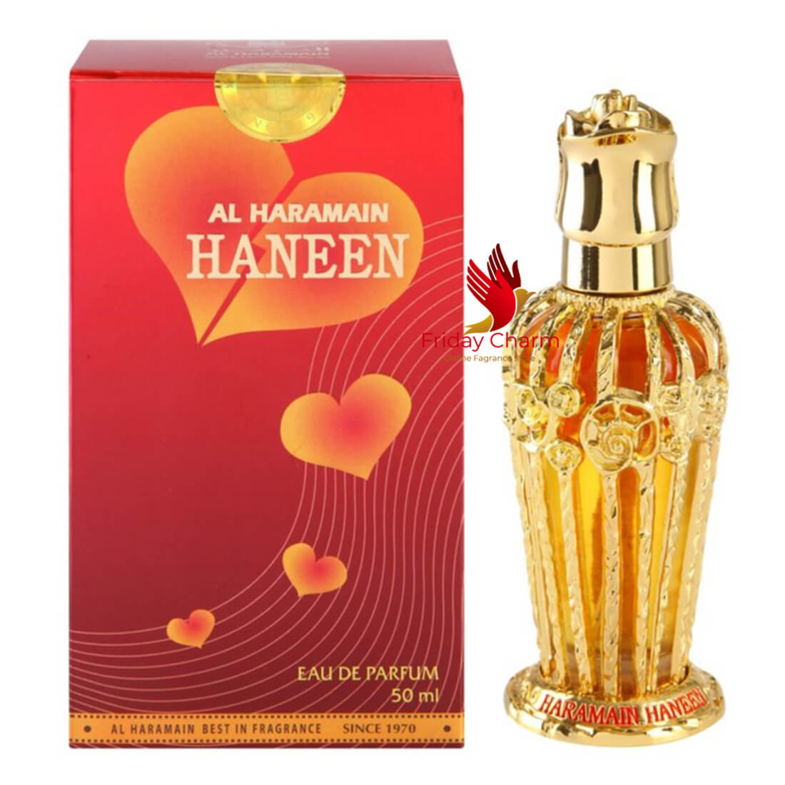 Al Haramain Haneen Perfume Spray - 50 ml