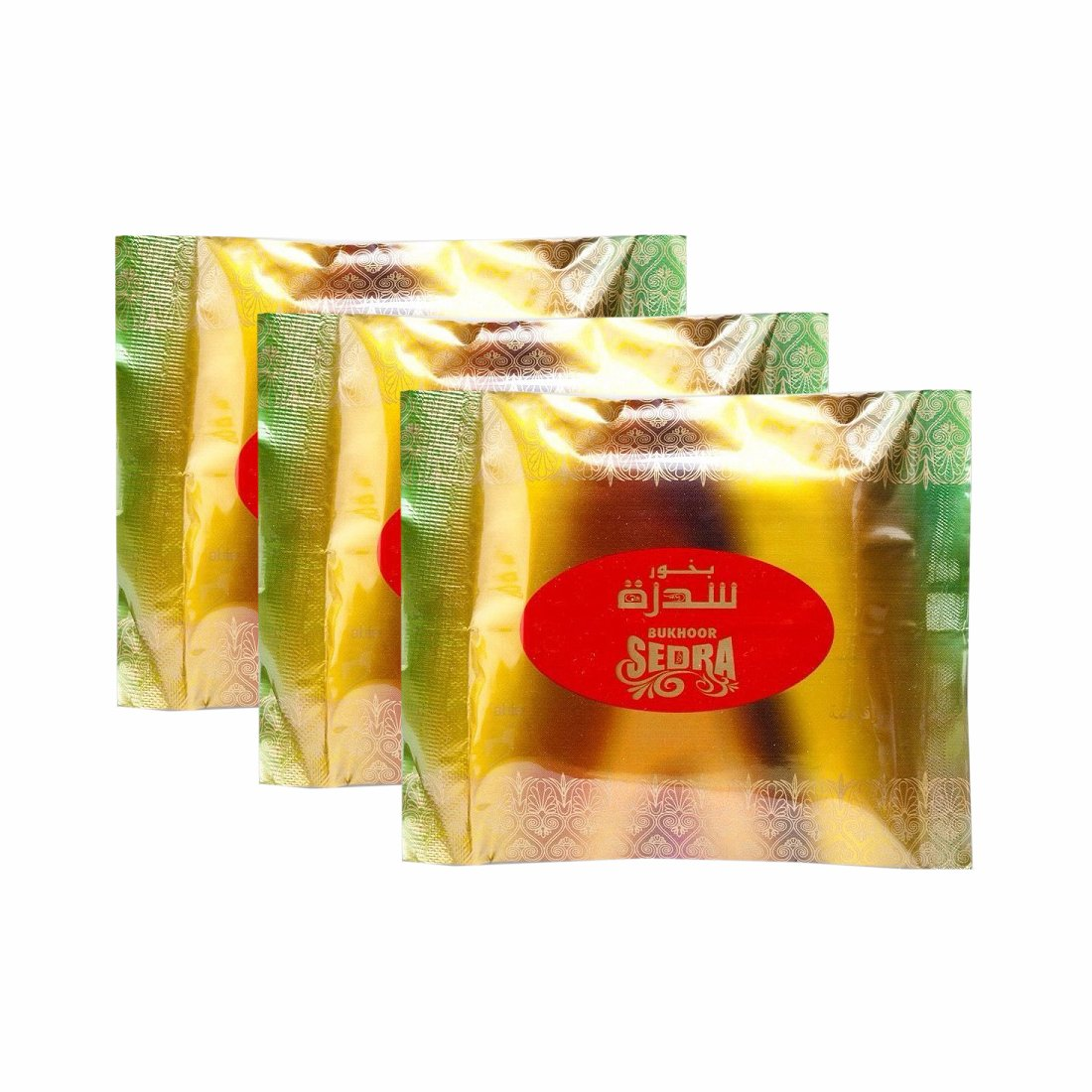 Al Haramain Bukhoor Sedra Bakhoor Burners Fragrance Paste Pack of 3