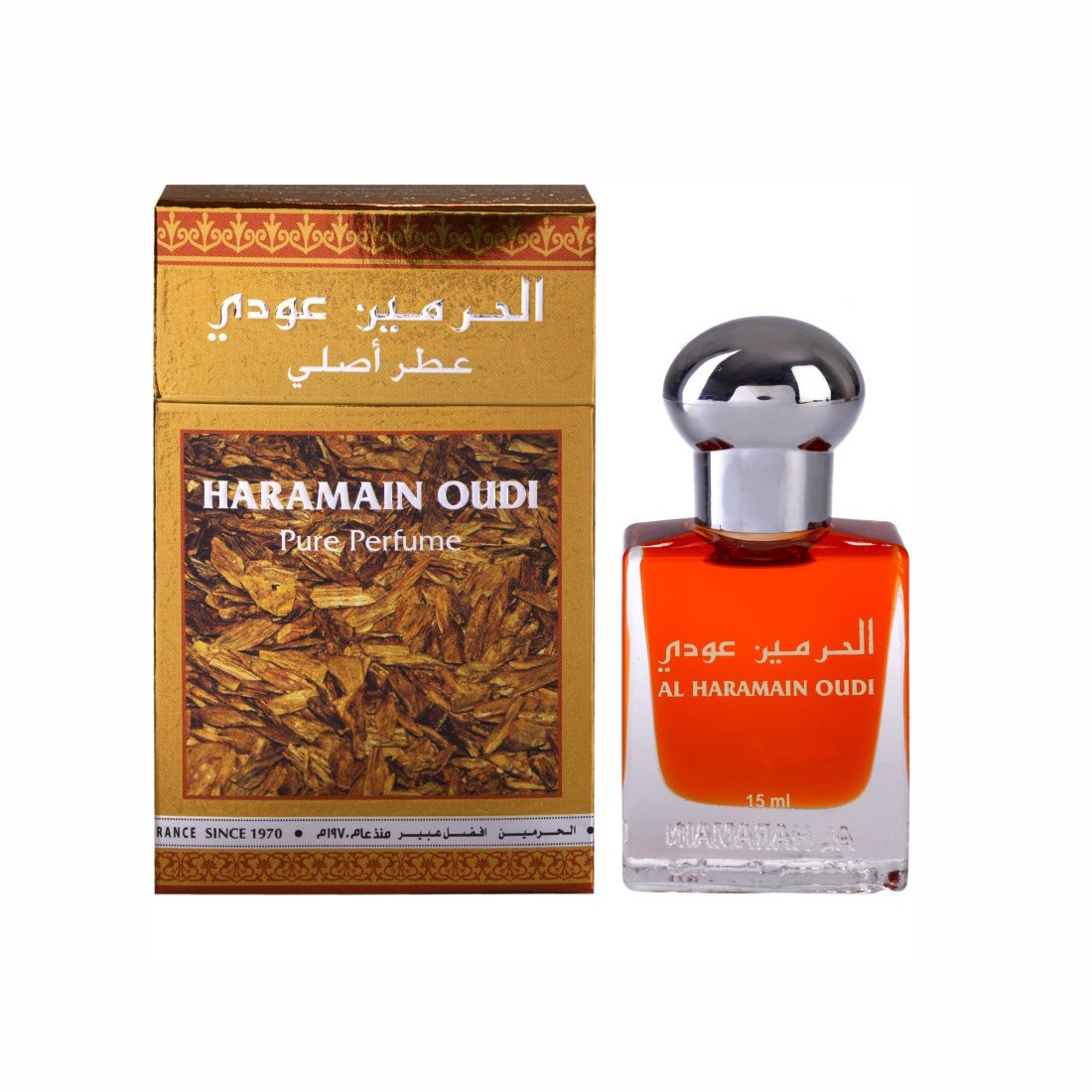 Al Haramain Oudi Fragrance Pure Original Roll on Perfume Oil (Attar) - 15 ml