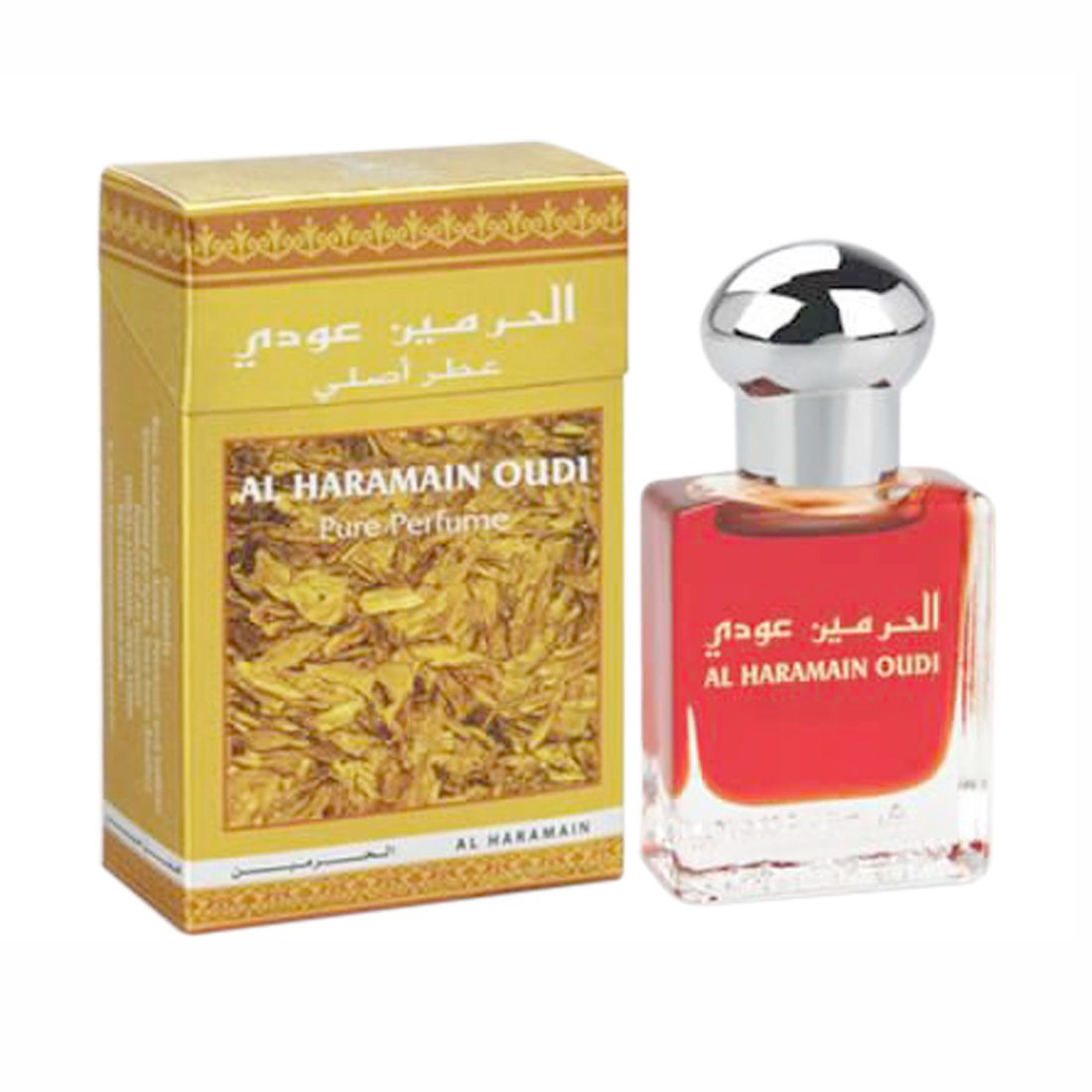 Al Haramain Oudi & Forever Fragrance Pure Original Roll on Perfume Oil Pack of 2 (Attar) - 2 x 15 ml
