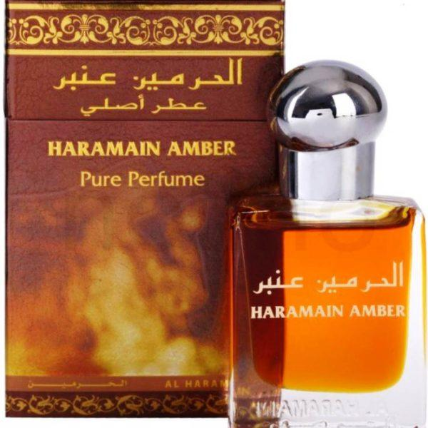 Al Haramain White Oudh & Amber Pack of 2 Attar- 2 x 15ml