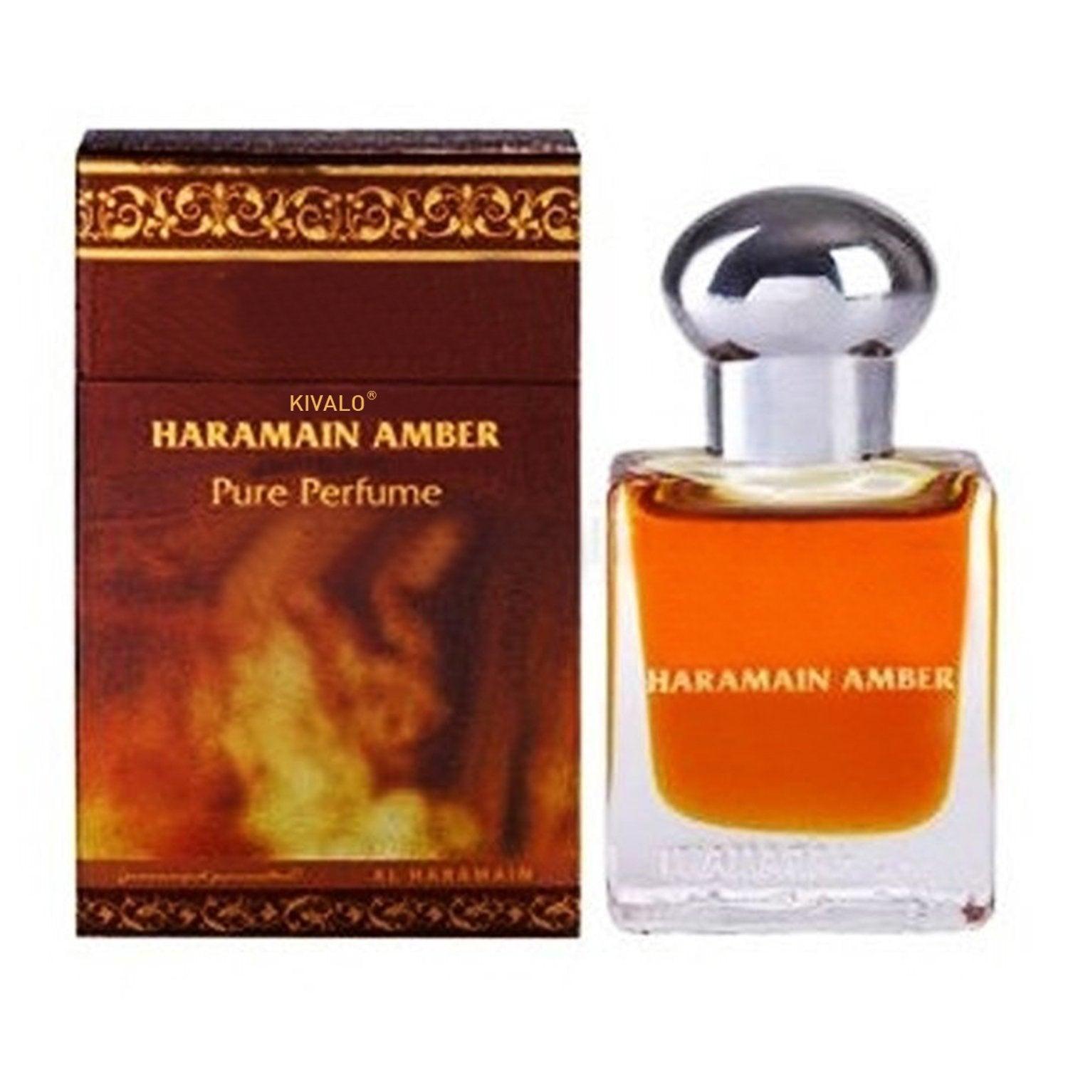 Al Haramain Amber & Musk Pack of 2 Attar - 2 x 15ml