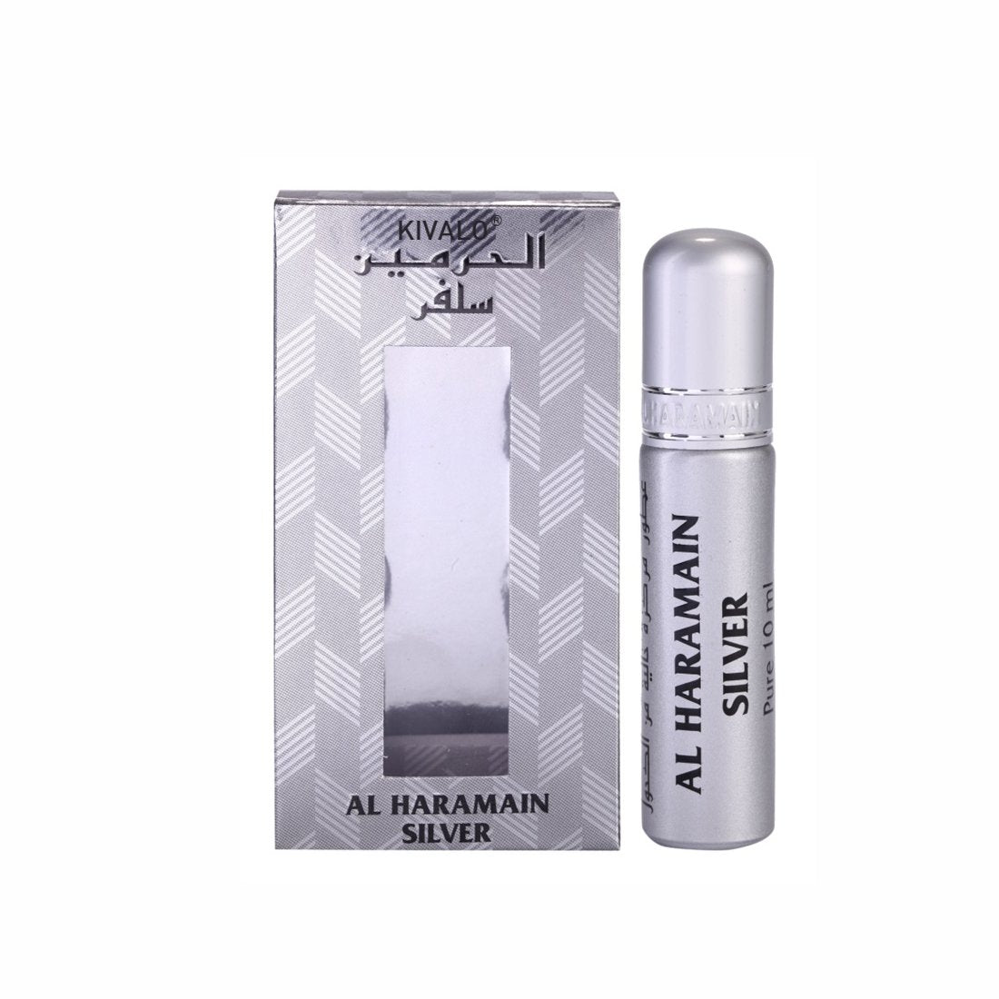 Al Haramain Silver Roll On Attar - 10 ml