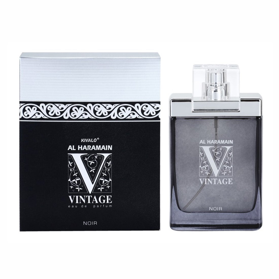 Al Haramain Vintage Noir Perfume Spray - 100 ml