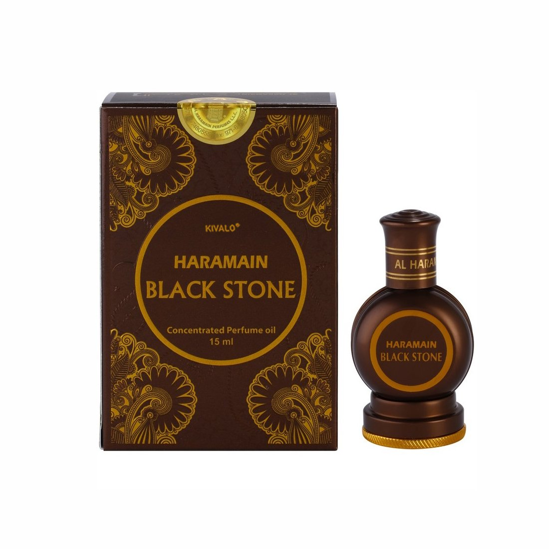 Al Haramain Black Stone Attar - 15ml