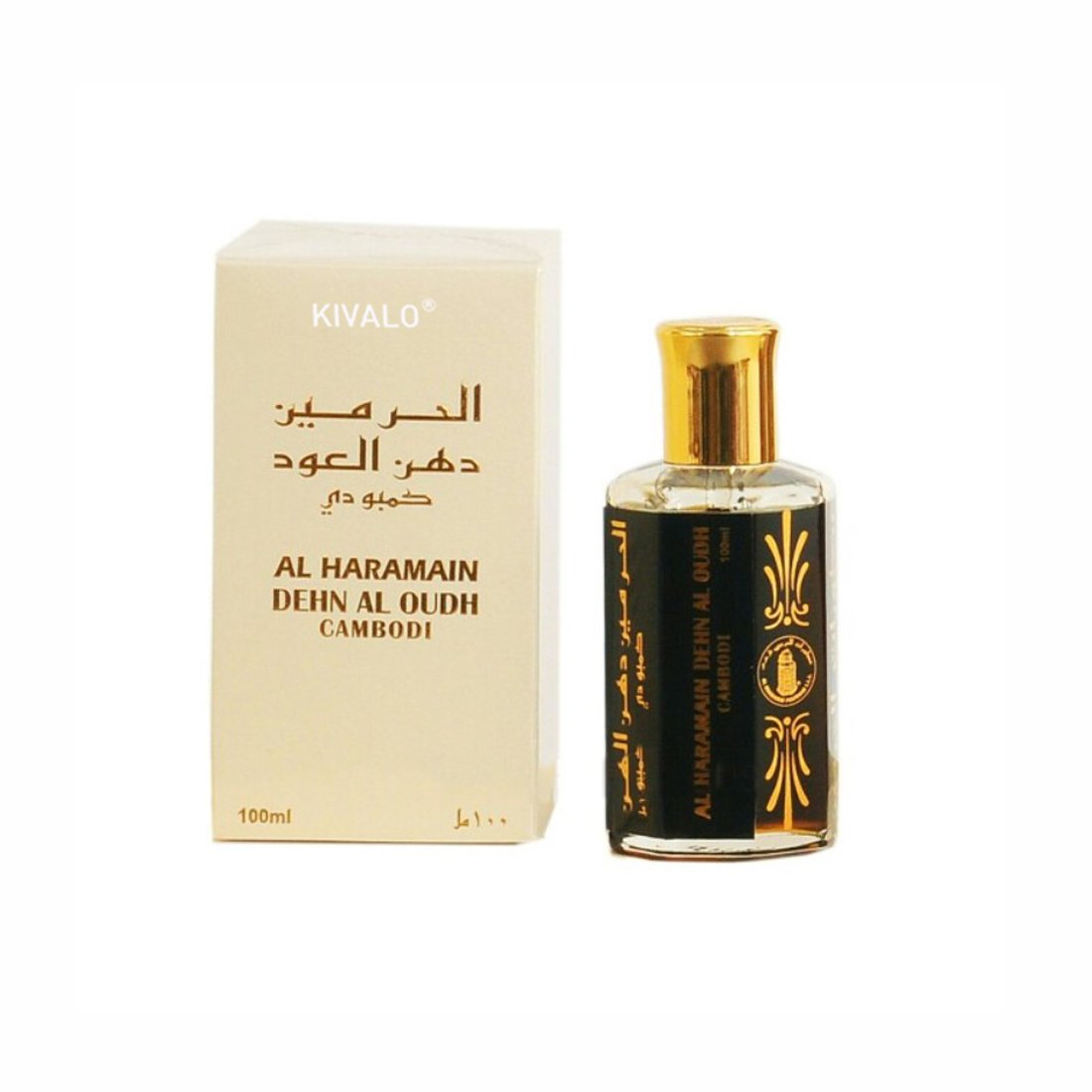 Al Haramain Dehn Al Oudh Cambodi Attar - 100 ml