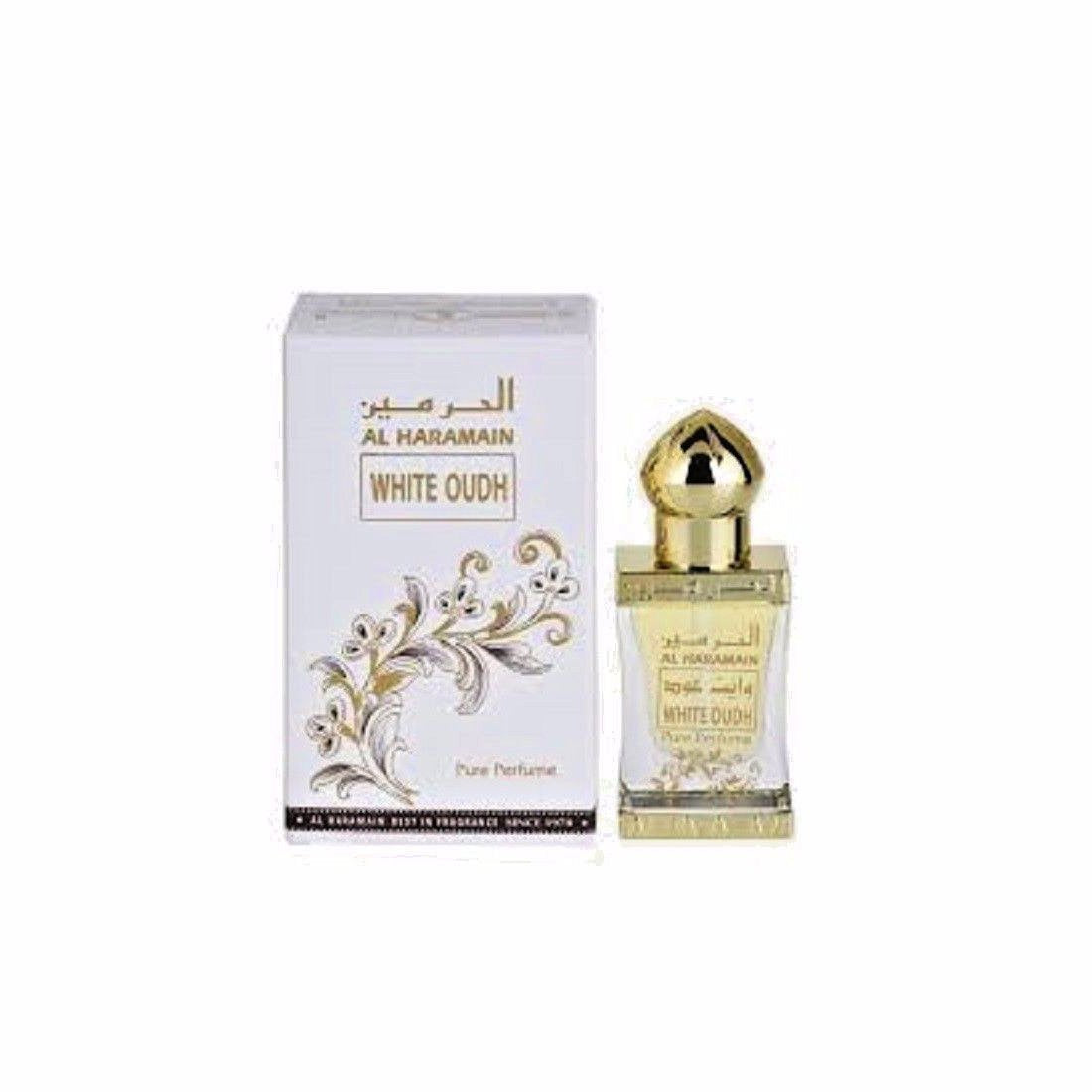 Al Haramain White Oudh Attar - 12 ml