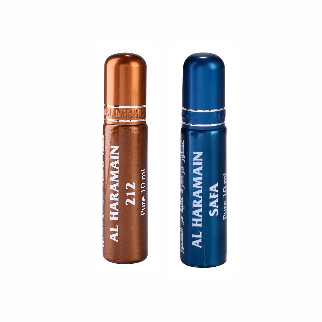 Al Haramain 212 & Safa Roll On Attar Pack of 2 x 10ml