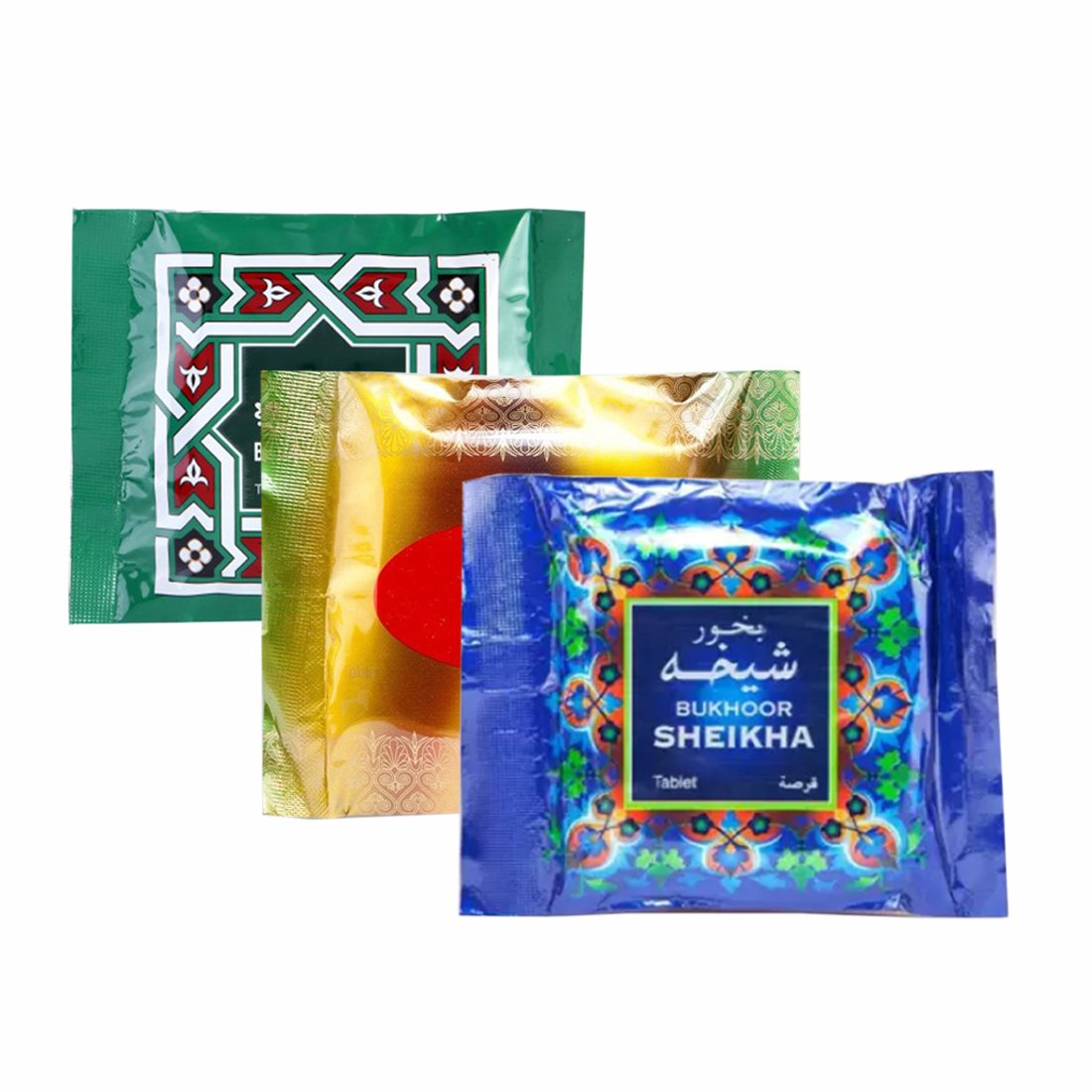Al Haramain Bukhoor Sheikha, Sedra & Watani Bakhoor Burners Fragrance Paste Pack Combo of 3