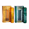 Al Haramain Gold & Kasturi Fragrance Pure Original Roll On Attar Combo Pack of 2 x 10 ml