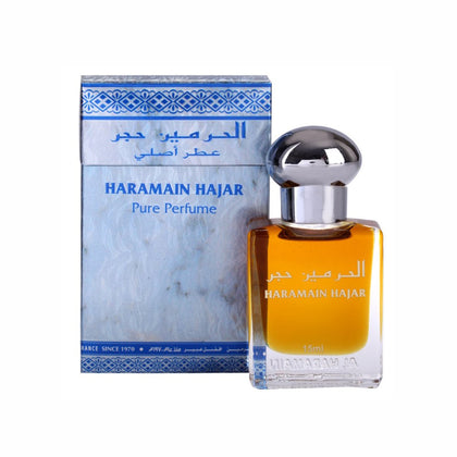 Al Haramain Hajar Fragrance Pure Original Roll on Perfume Oil (Attar) - 15 ml