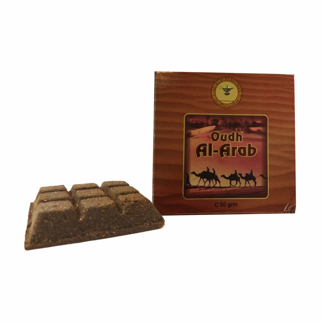 Alif Bukhoor Oudh Abyad & Al Arab Incense Home Fragrance Pack Of 2 x 50g