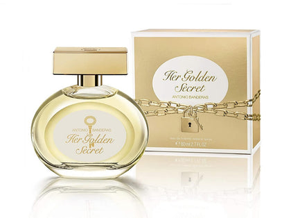 Antonio Banderas Her Golden Secret EDT Spray for Women 80ML