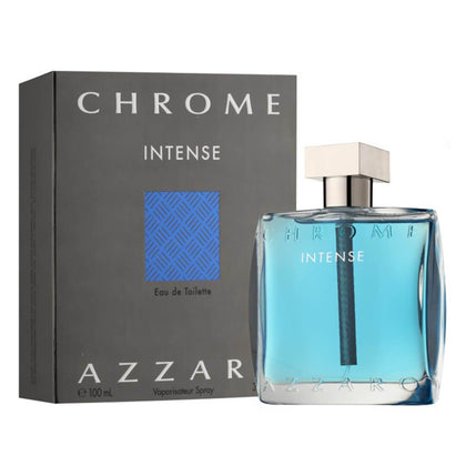 Azzaro Chrome Intense Eau De Toilette For Men 100ml