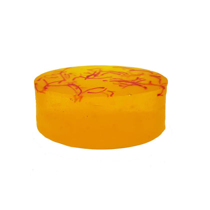 Organic Honey Saffron Soap