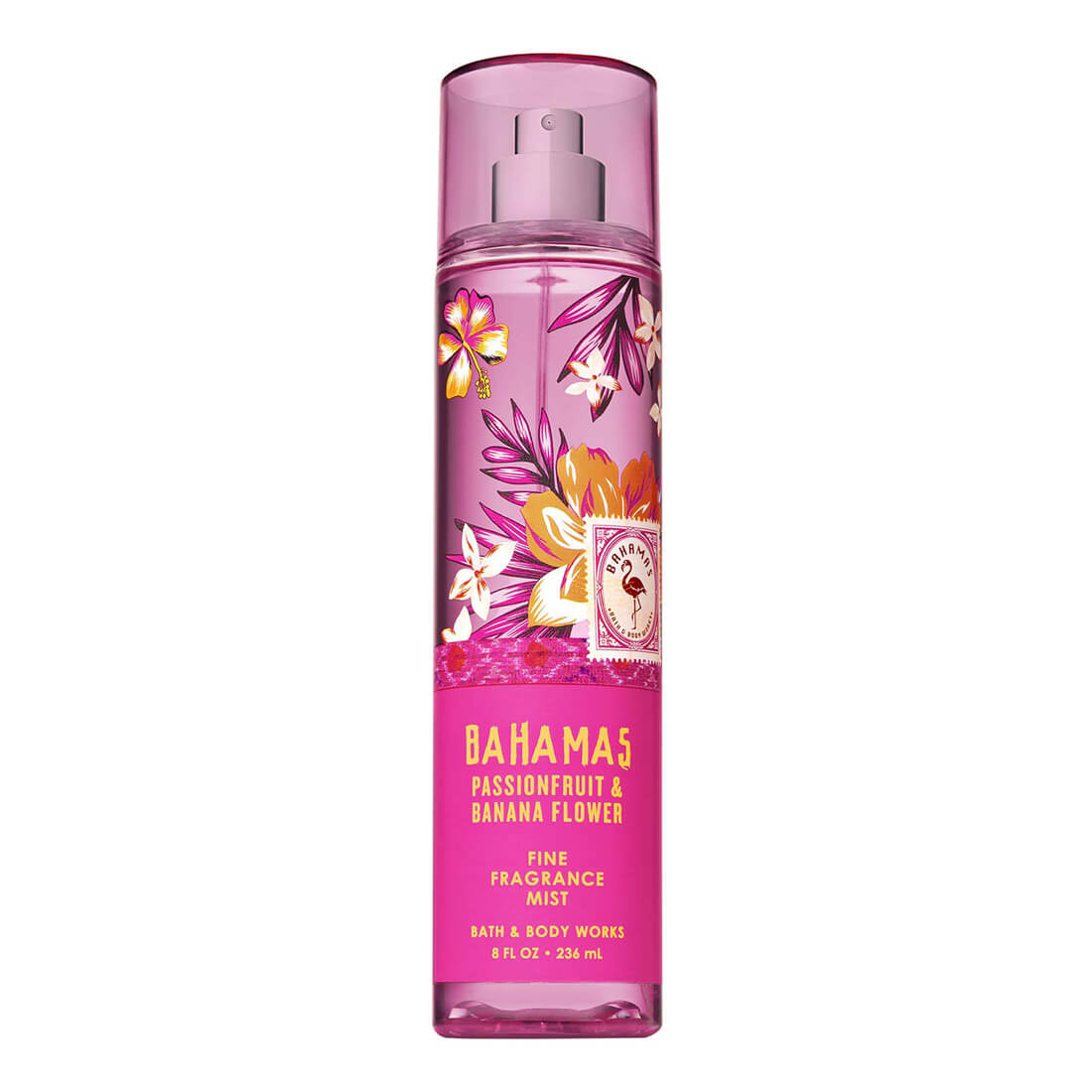 Bath & Body Works Bahamas Passionfruit & Banana Flower Signature Collection Fragrance Mist 236ml