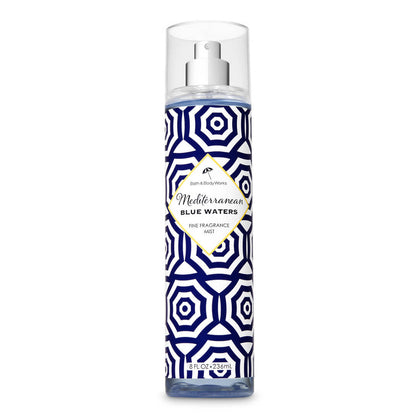 Bath & Body Works Mediterranean Blue Waters Signature Collection Fragrance Mist 236ml