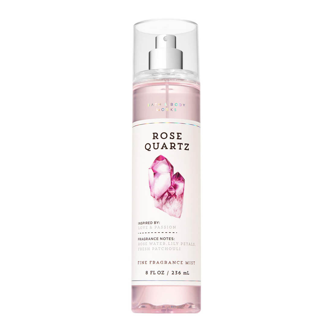 Bath & Body Works Rose Quartz Signature Collection Fragrance Mist 236ml