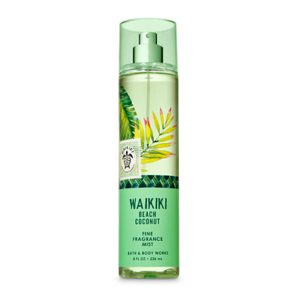 Bath & Body Works Waikiki Beach Coconut Signature Collection Fragrance Mist 236ml