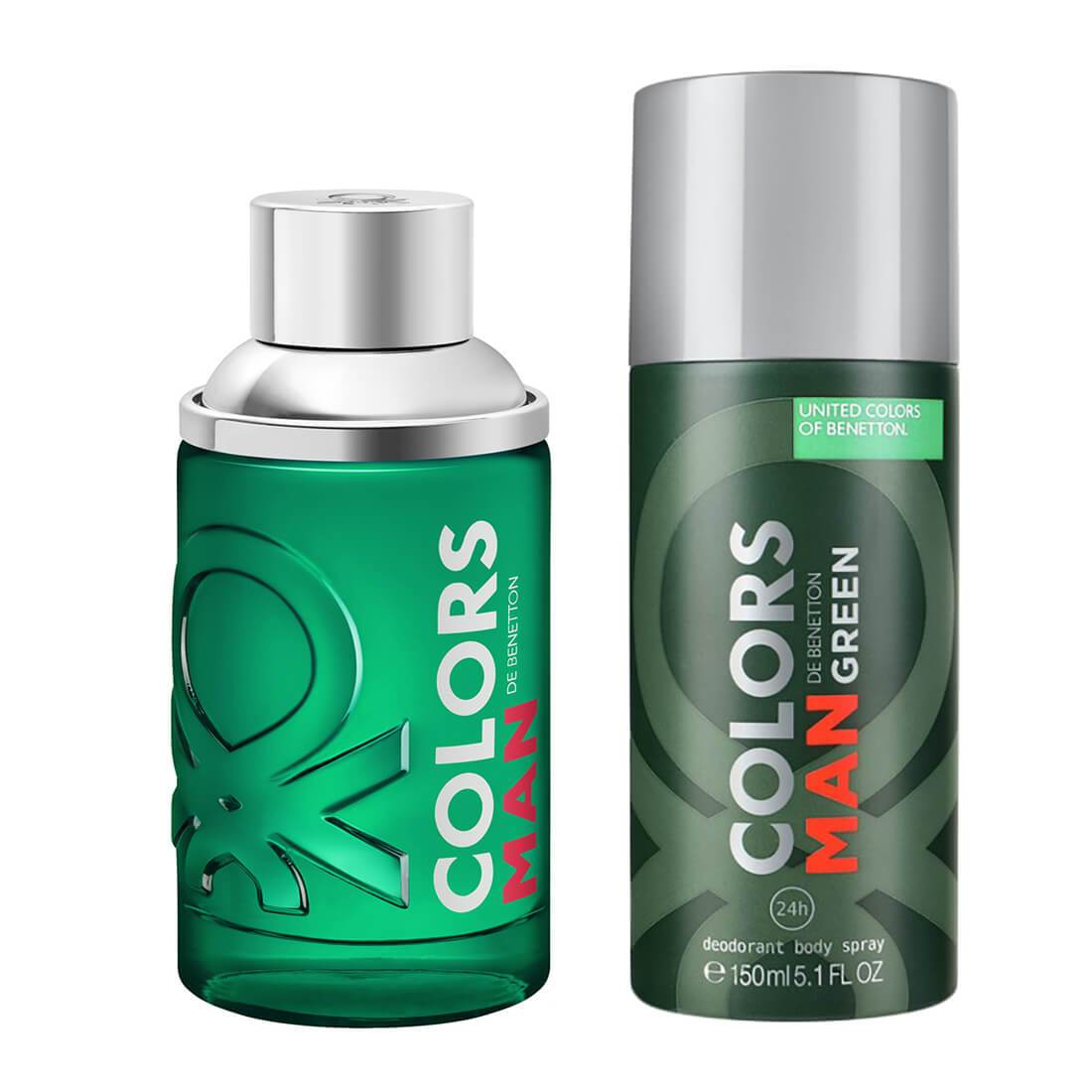 United Colors of Benetton Colors Green Fragrance Gift Set